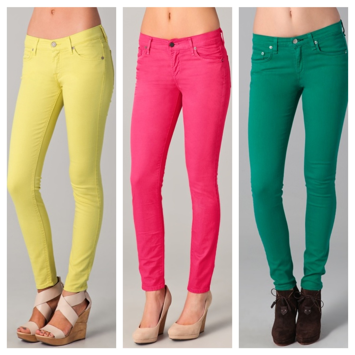 Green jeans for women – Global fashion jeans models
