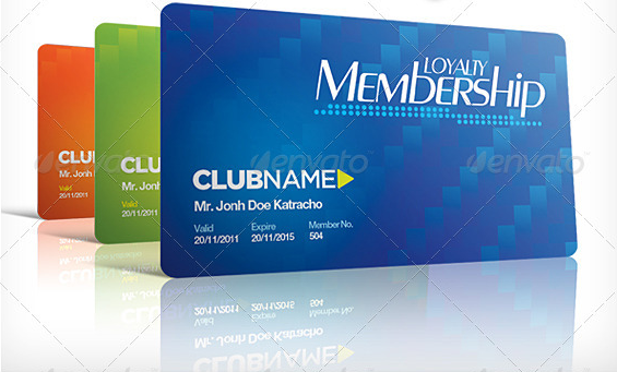 High Quality Club Membership Card Template Within Club Membership Card Template