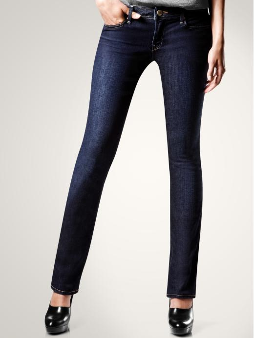 womens dark denim jeans - Jean Yu Beauty