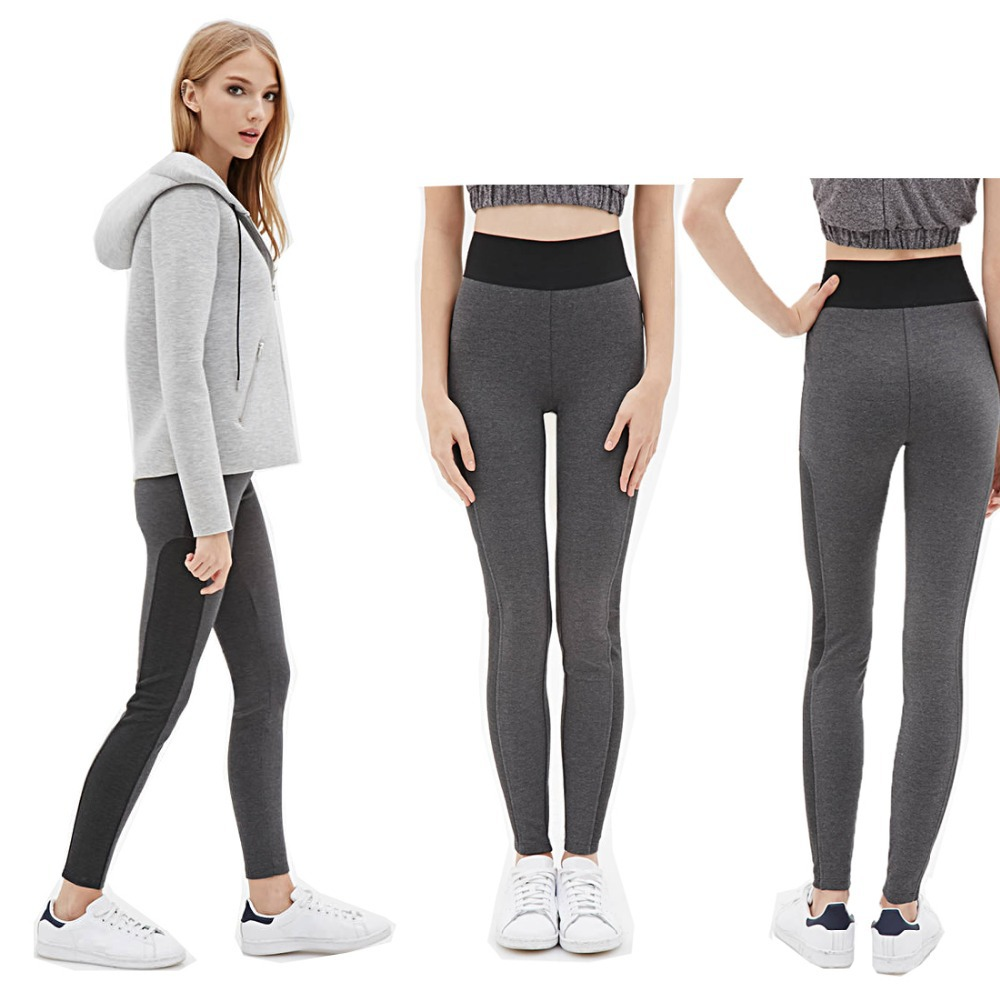 Grey Yoga Pants Outfit