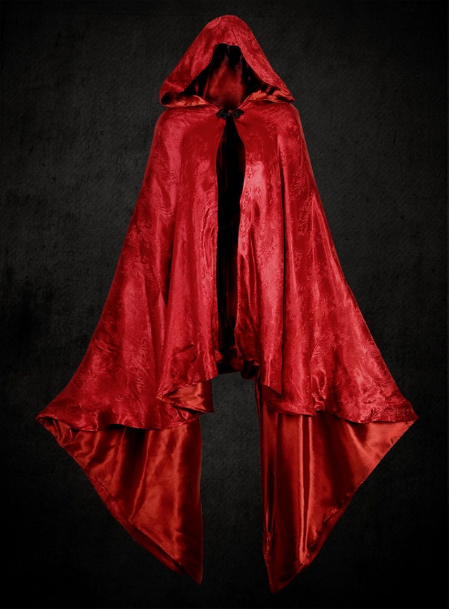 how to make a simple red riding hood cape