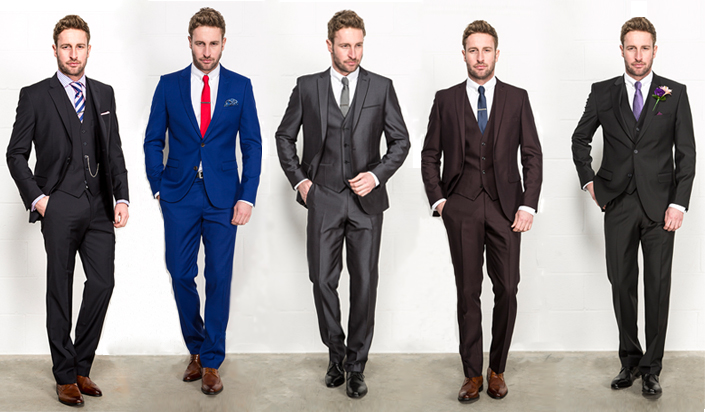 What color shirt to wear with brown pinstripe suit