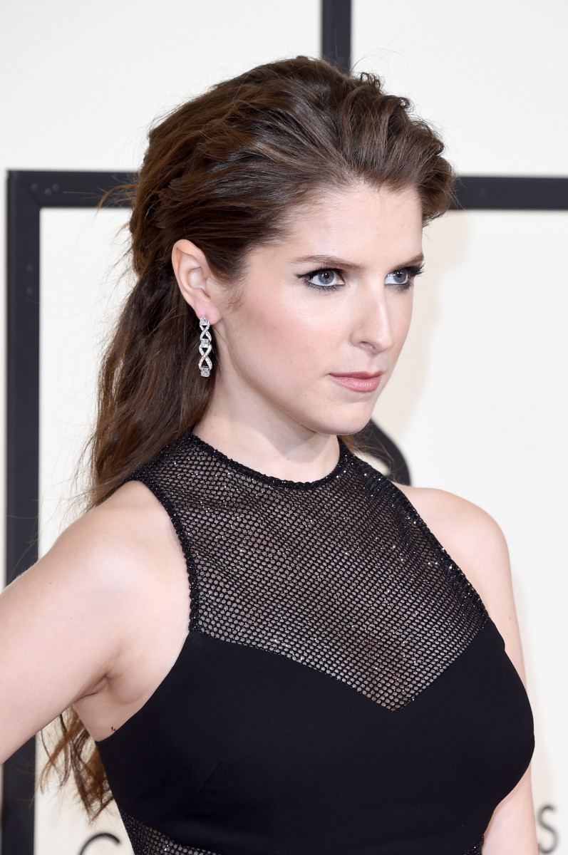 Best Dressed In Black At The Grammys 2016 | Wonder Wardrobes Anna Kendrick