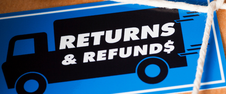 Easy returns and refunds