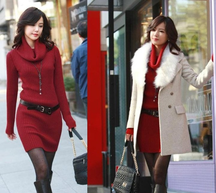 a9a2c2664867 Ways to style a sweater dress