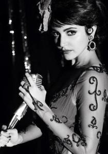 Jazz Singer in Bombay Velvet