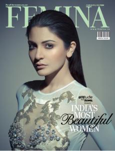 Anushka in Femina Cover