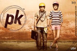 Anushka In PK Poster