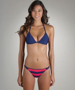 Bikini for the hourglass figure