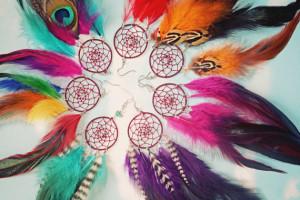 Traditional Dream Catcher earrings