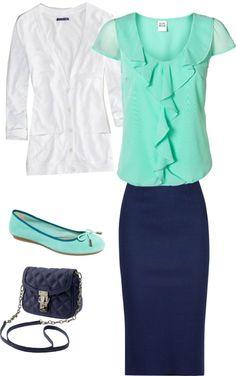 mint blue outfit 4