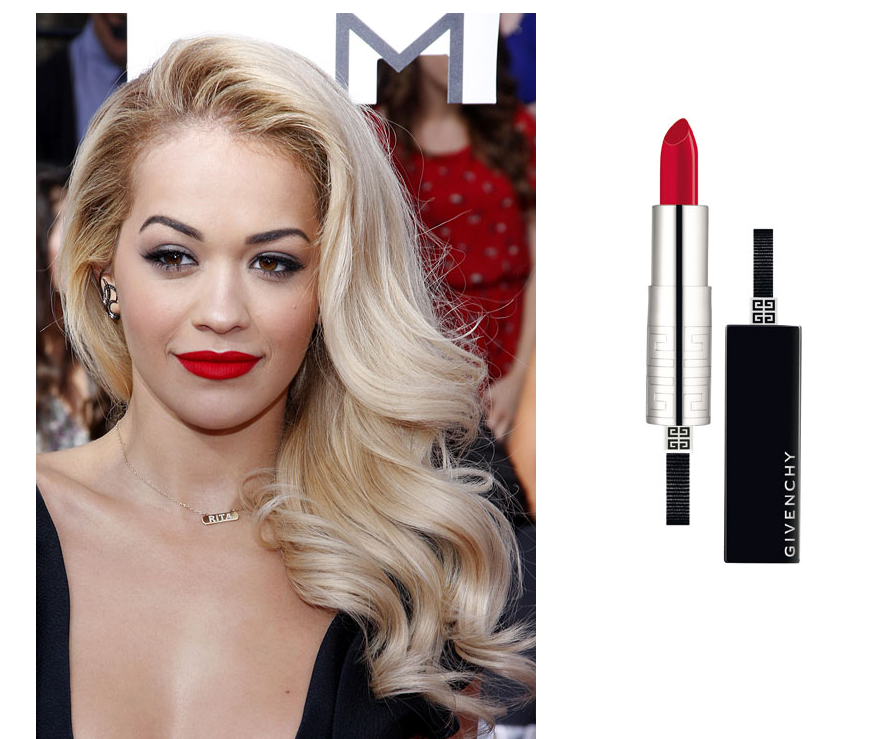 Classic Red Lipstick By Givenchy
