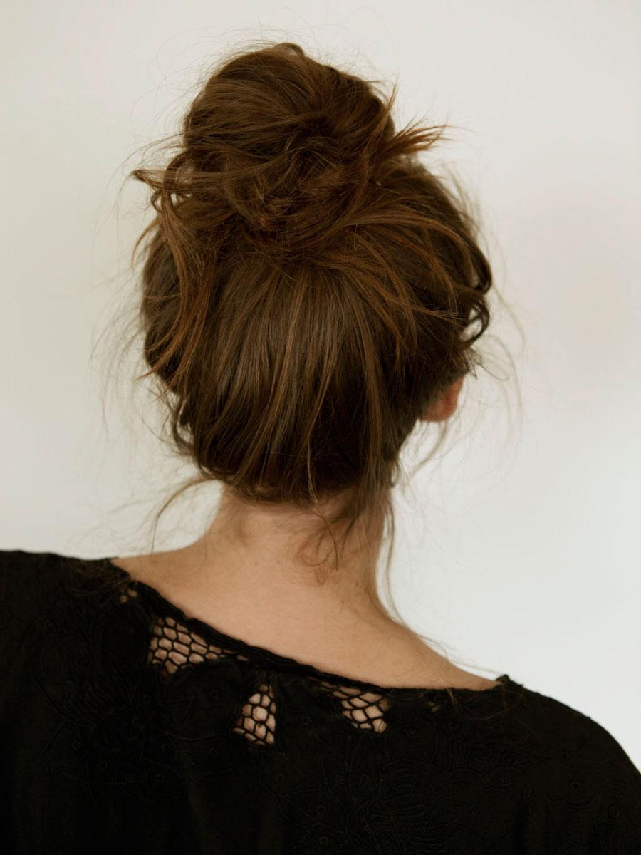 Hairstyles Messy Bun