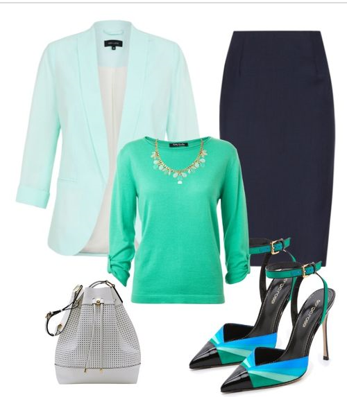 mint blue outfit 3