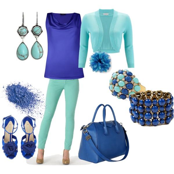 mint blue outfit 6