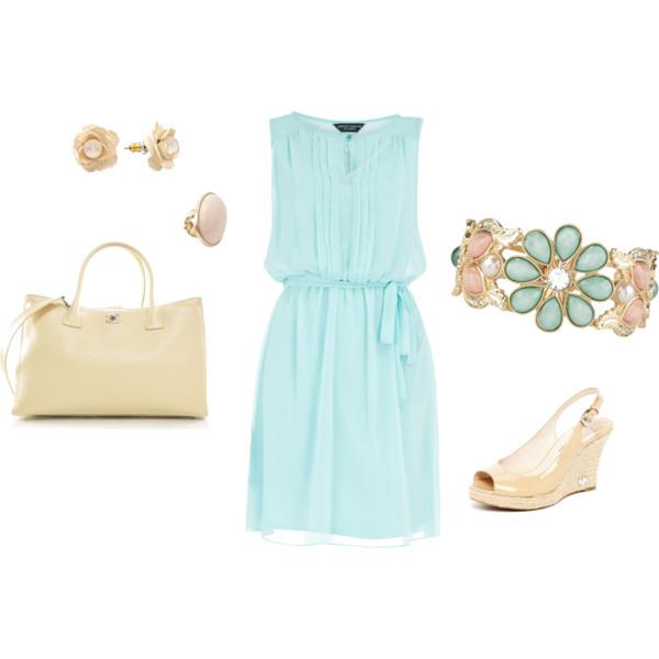 mint blue outfit 2