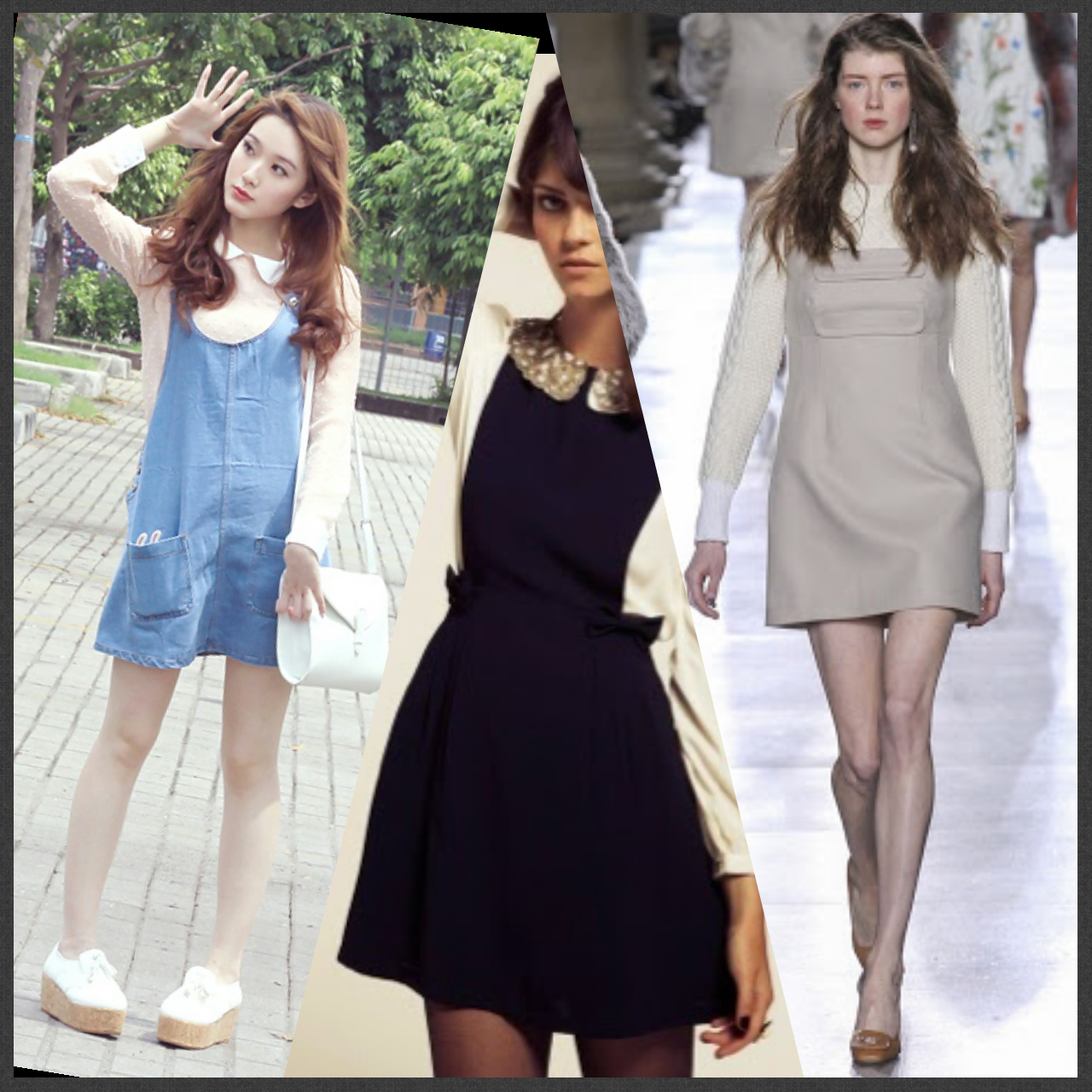 style your pinafore