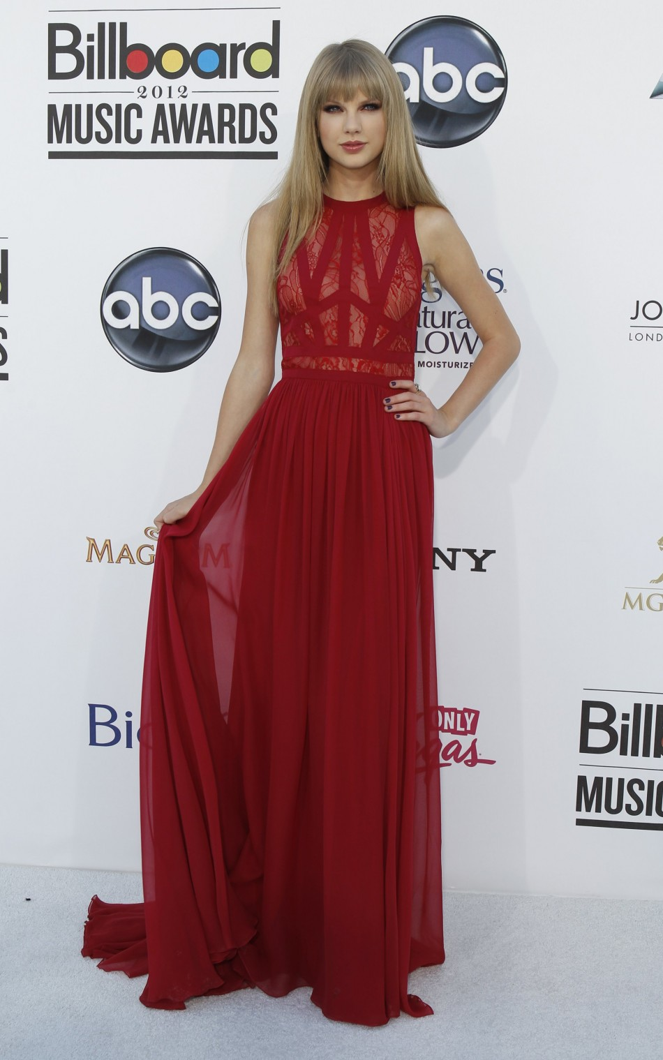 Taylor Swift's Sheer Dress
