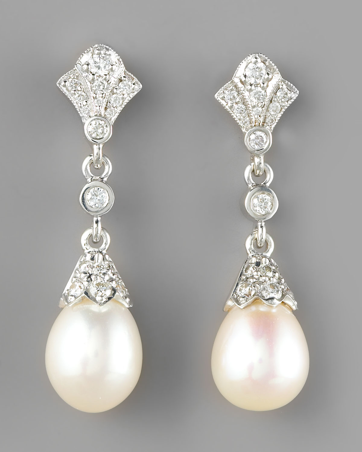 Pink Pearl Earrings Wonder Wardrobes