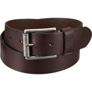 Understated belts