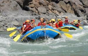 White Water Rafting in Rishikesh 2