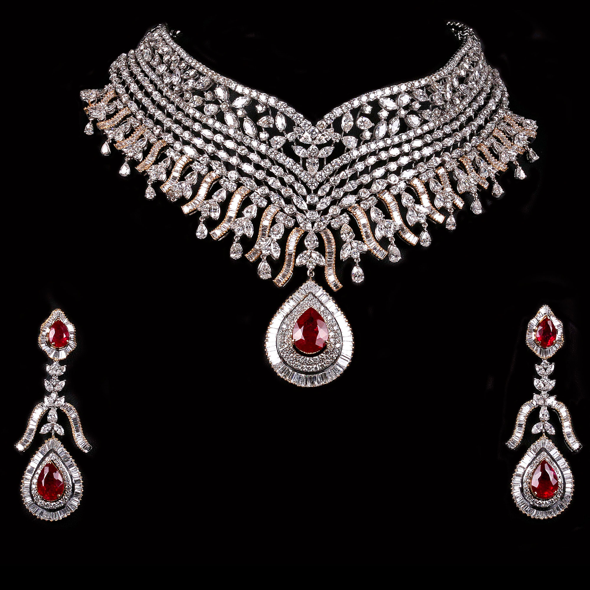 pin by p diamond jewellery s satyanarayan jewellers son set