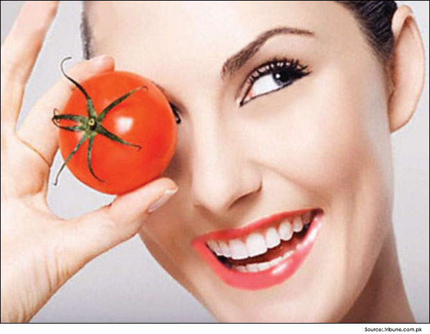 Image result for tomato for dark circles
