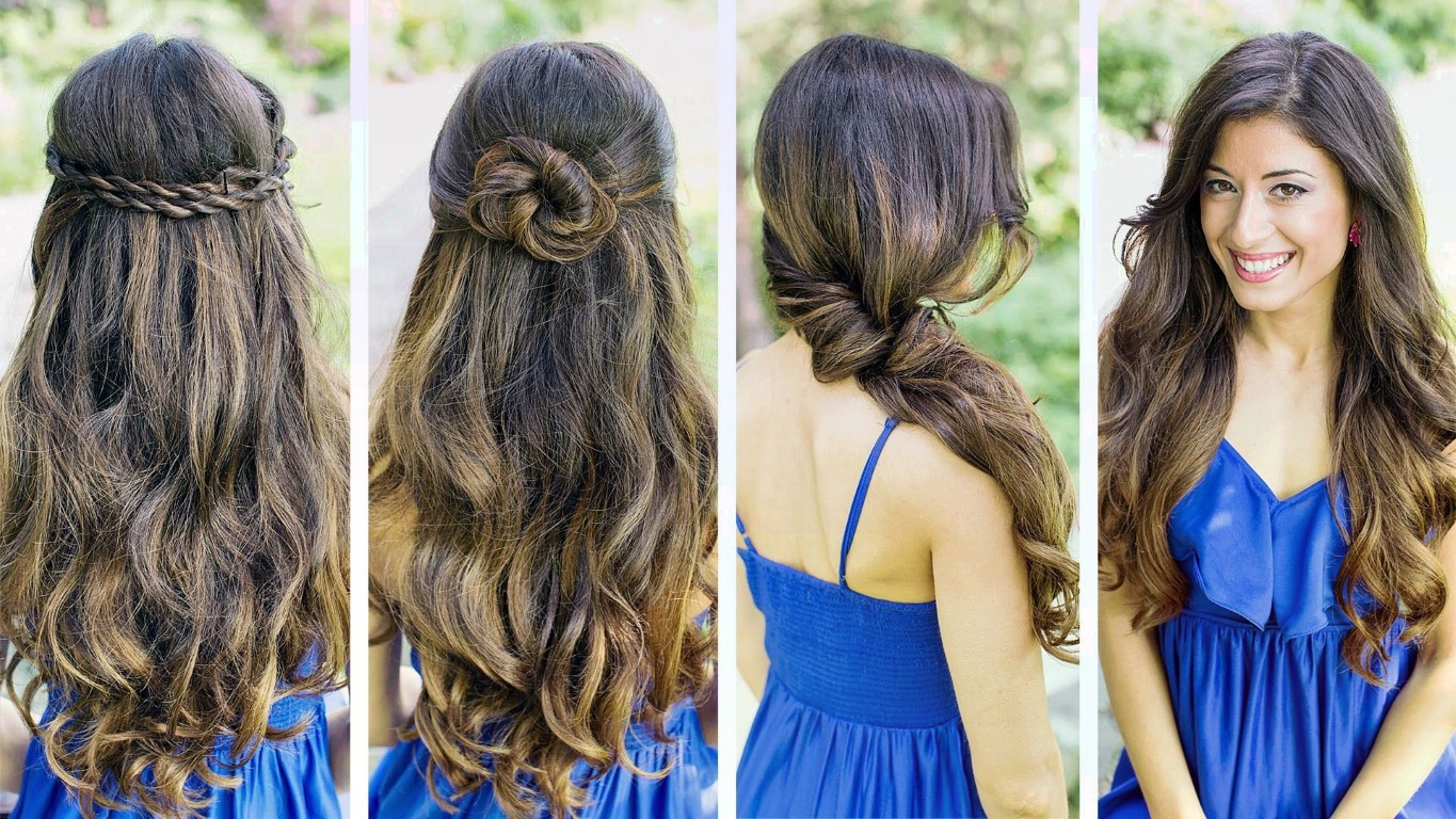 Easy Styles For Long Hair: 10 Easy Hairstyles For Long Hair!