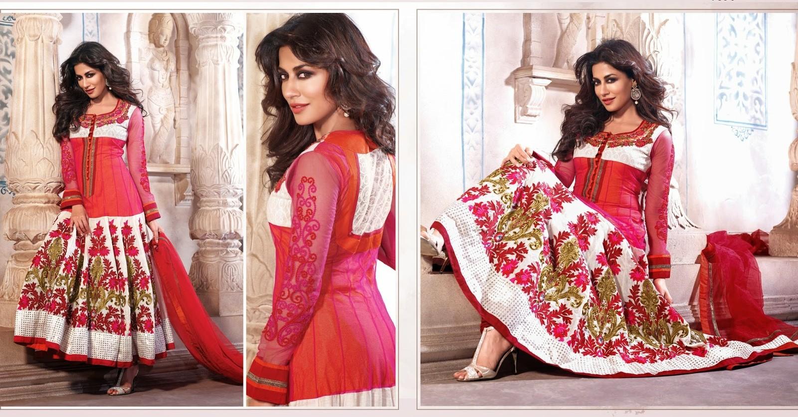 35 Best Churidar Umbrella Suits images   Anarkali suits ...