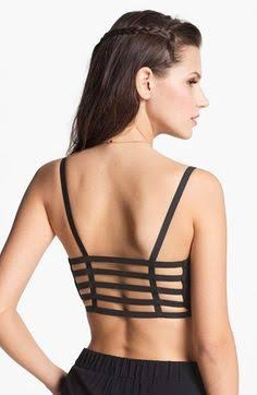 997c4b62b2dd8 These are latest in trend. These bras have 3 to 4 back straps and are worn  like the sports bra. They add style to the backless dresses you wear to give  a ...