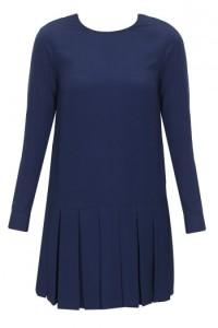 navy blue drop waist dress-pernia qureshi
