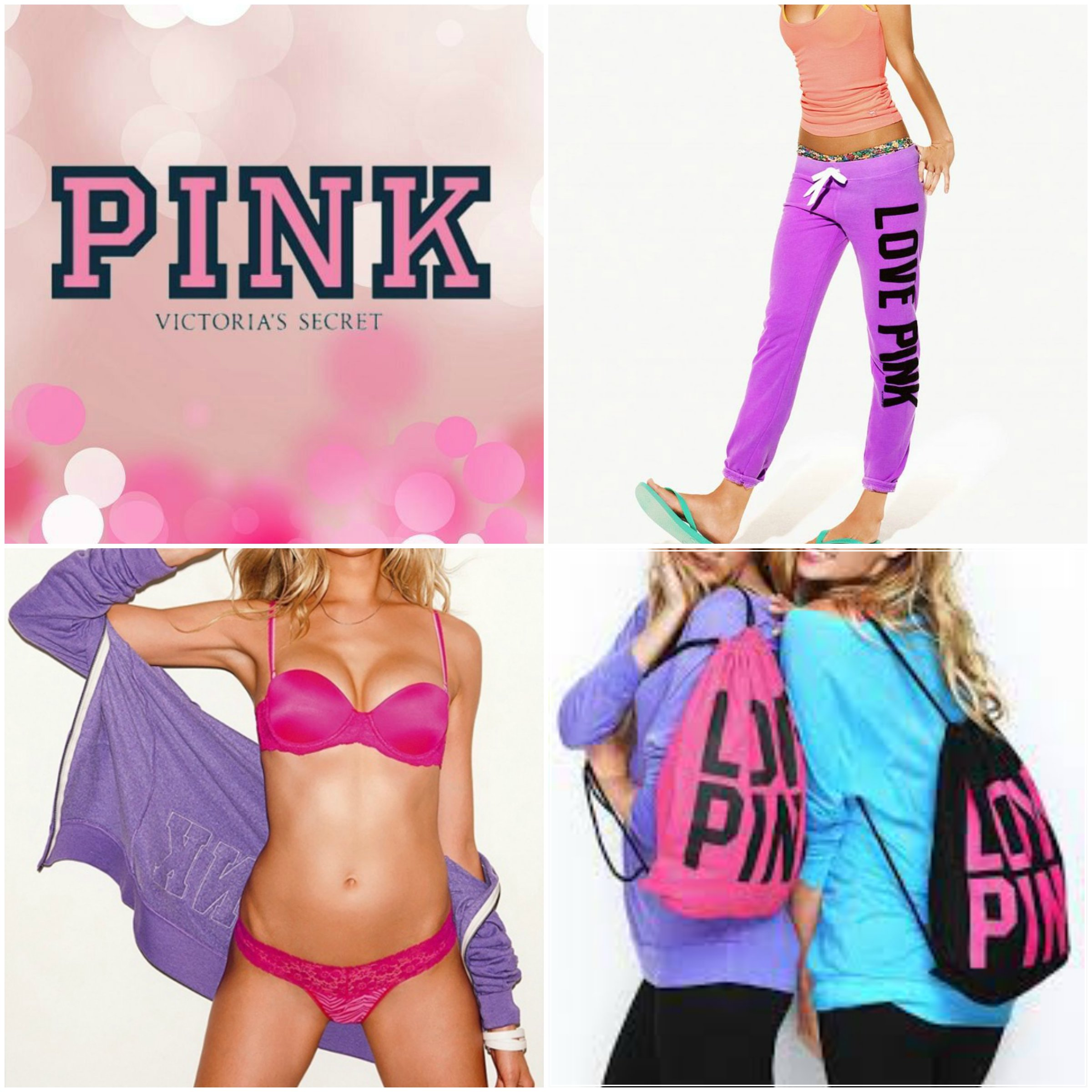 c2dcd502b9 The first and the most obvious brand for teenagers to pick. Victoria Secret  lives up to all the hype it gets not only for the main brand but also for  PINK.
