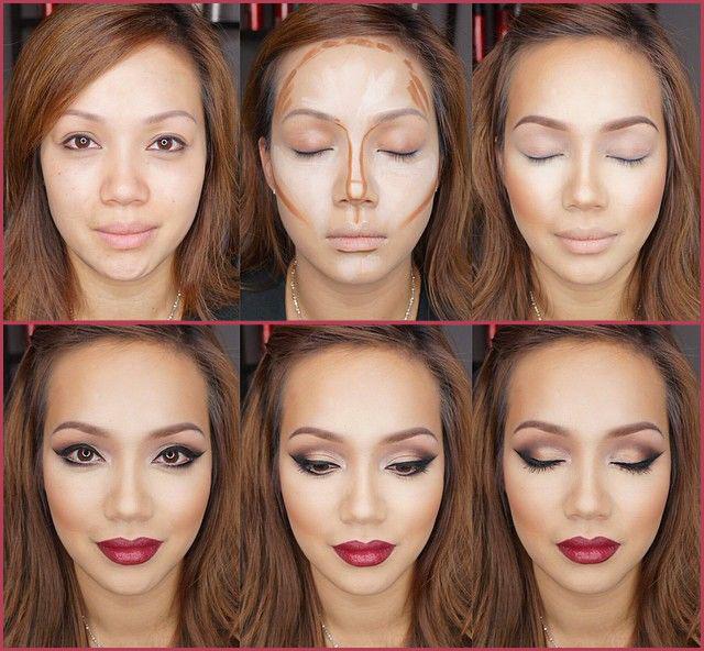 видео нанести макияж