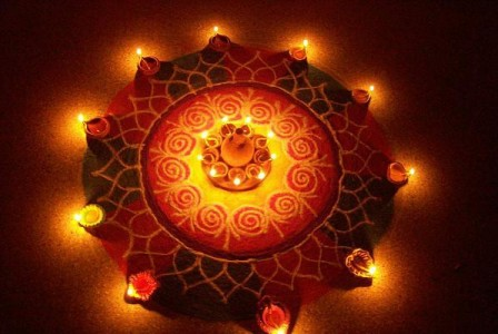 8 Rangoli Designs For Diwali 2015