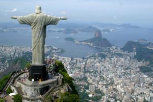Wide spread city of Rio