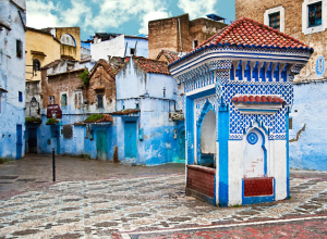 The Blue Morocco