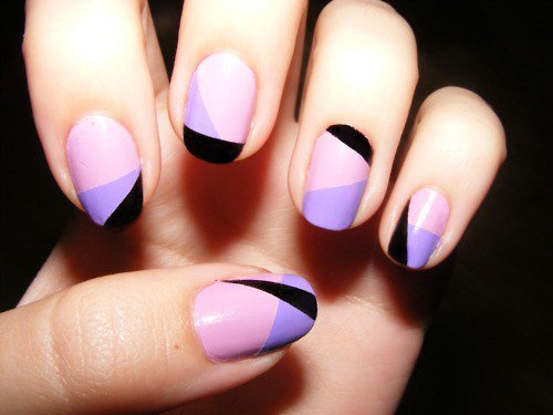 Nail art design using scotch tape best nails 2018 120 best nail designs of 2017 latest art trends prinsesfo Gallery