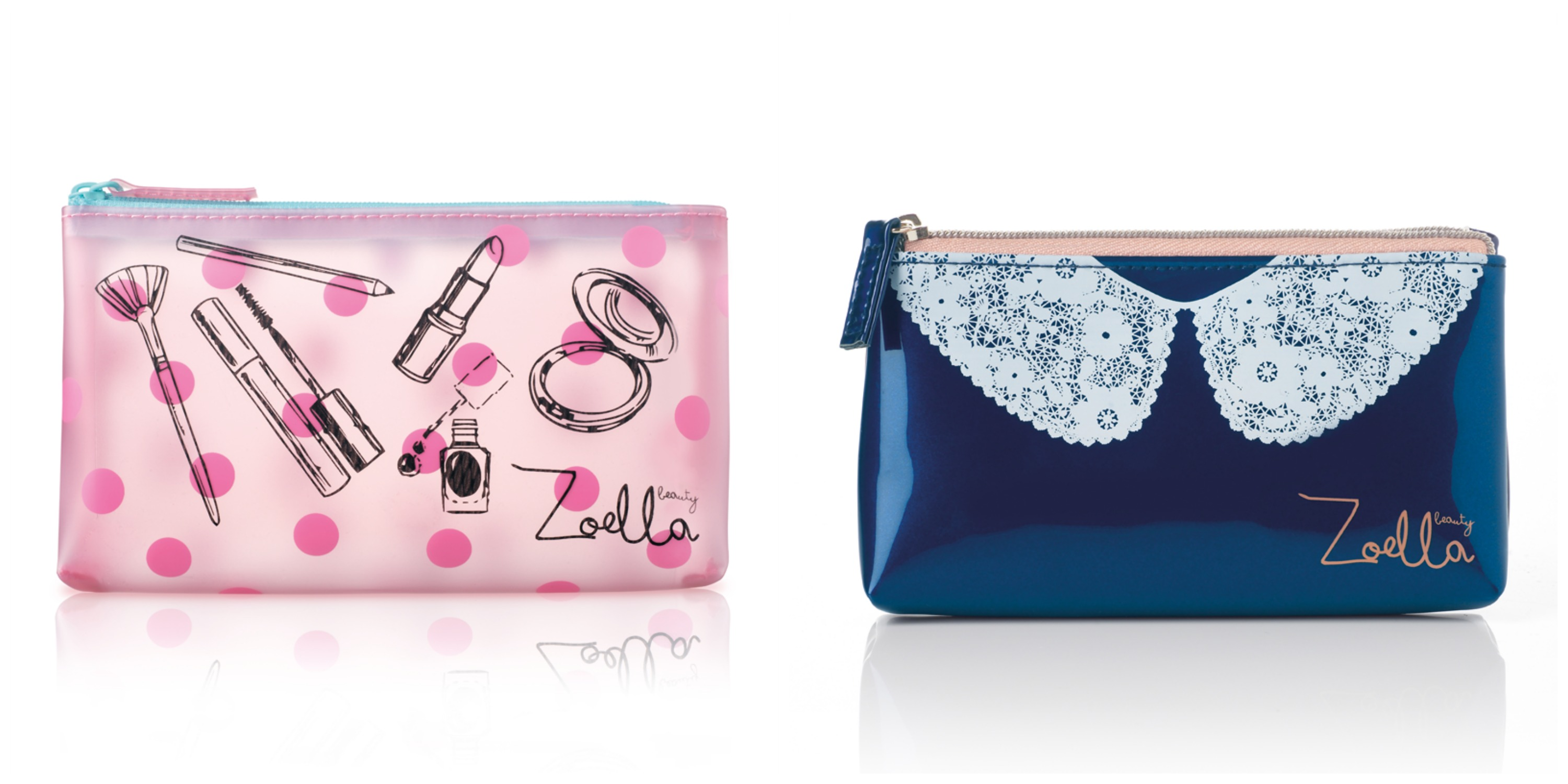 Zoella Blue Makeup Bag Saubhaya