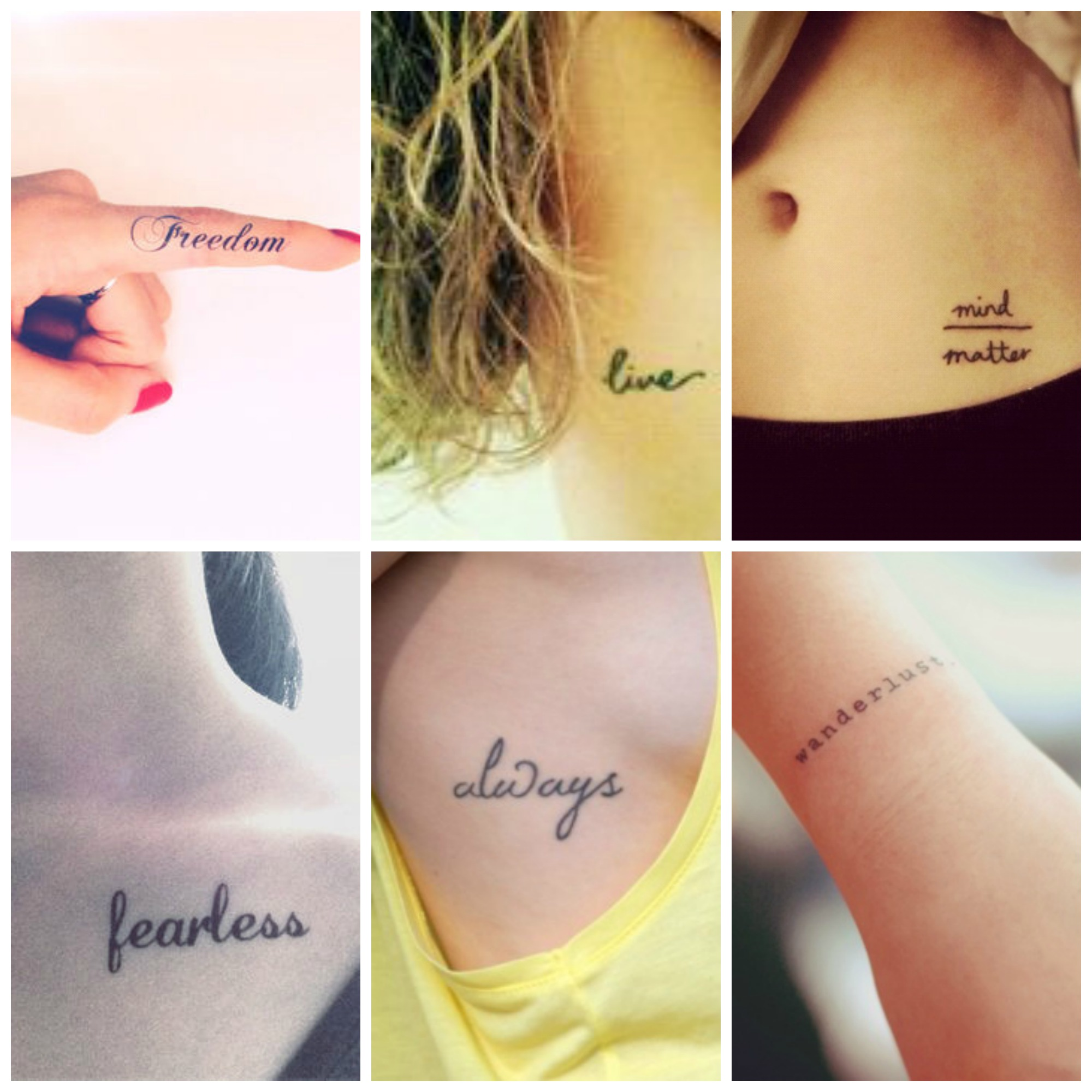 Top 10 Minimal Tattoos To Try Out
