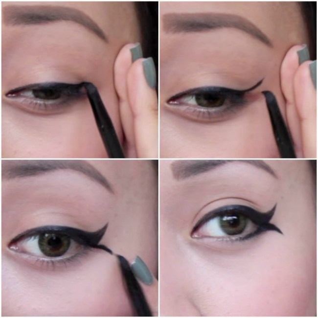Fishy Tail Eyeliner Style