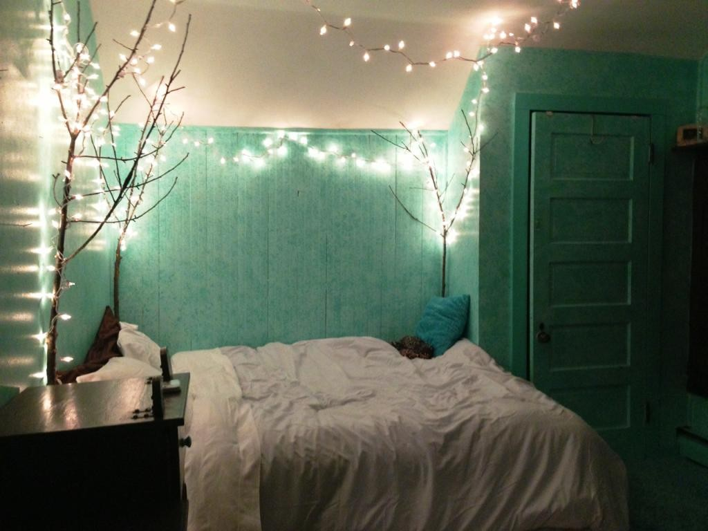 Mint And Blue Room