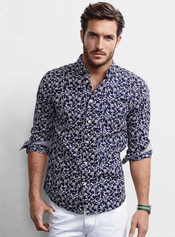 This men's casual print shirt is great to match with the casual pants Goodstoworld Men's Casual Button Down Hawaiian Shirt Floral Short Sleeve Aloha Shirt. by Goodstoworld. $ - $ $ 9 $ 40 00 Prime. FREE Shipping on eligible orders. Some sizes/colors are Prime eligible.