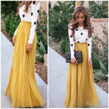 What To Wear With Long Skirts? | Wonder Wardrobes