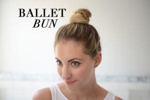 ballet bun's fun easy hairstyles