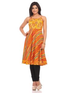 date nights are best nights kurta for women