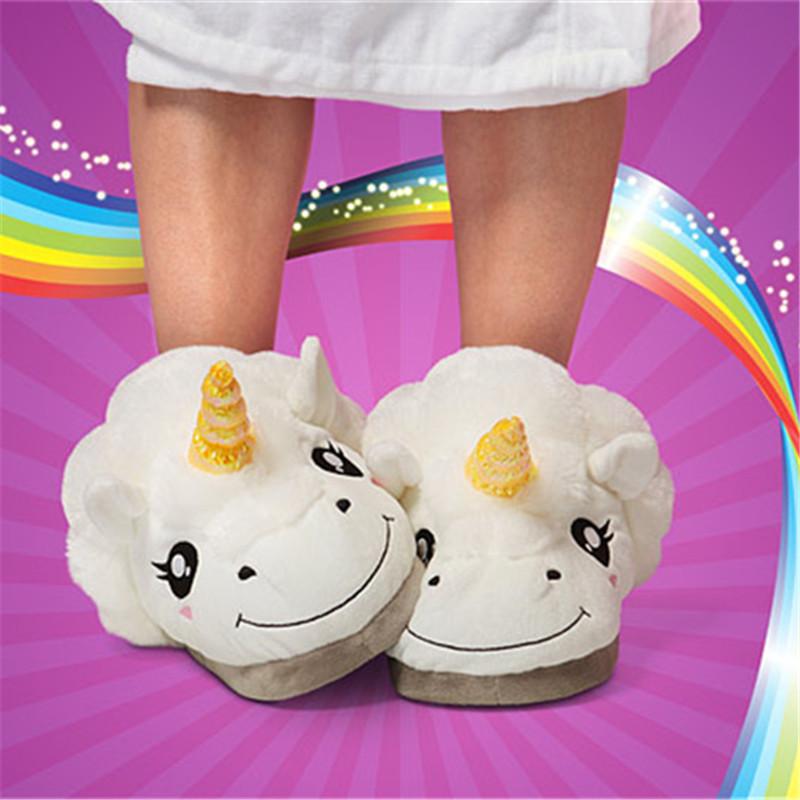 slip on some unicorn