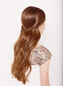 Half-up-Half-Down easy hairstyles princess
