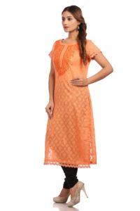 kurta online peach girl next door daily wear