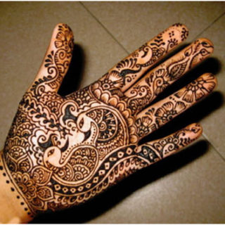 Karwa Chauth Mehandi Design