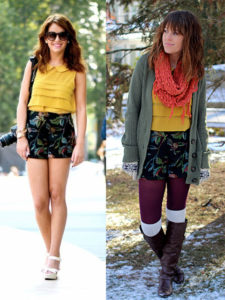 refashion shorts